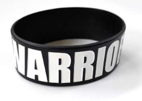 WAKE UP WARRIOR Silicone Wristband