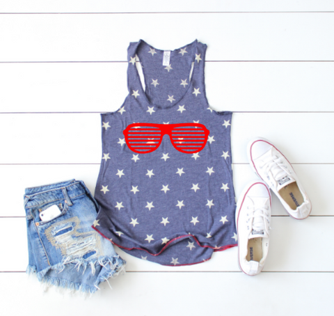 Stars  & Stripes Women's Tank