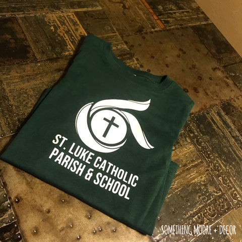 St. Luke Catholic Parish & School Toddler Tee