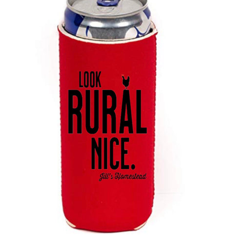 Look Rural Nice Skinny Can Cooler