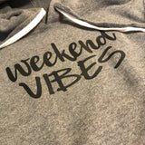 Weekend Vibes Tunic Sweatshirt