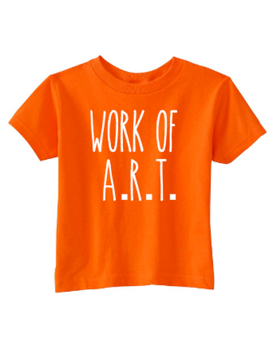 Work of A.R.T. Toddler Tee