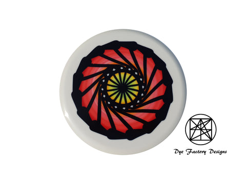 Dye Factory Designs Innova Star Aviar3 'red water wheel spinner'
