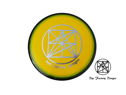 Dye Factory Designs Innova Star Destroyer 'spin dye logo#2'