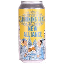 Burning Sky New Alliance Pale Ale 4.5% abv 440ml Can