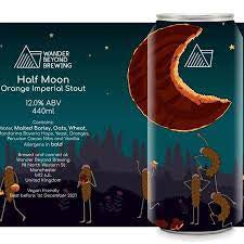 Wander Beyond Half Moon Imperial Stout 12% abv 440ml Can