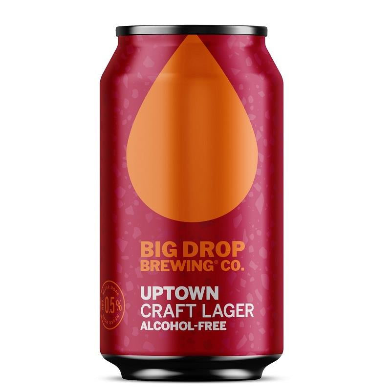 The Big Drop Lager CAN 33cl 0.5%