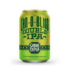 Oskar Can-O-Bliss DIPA 8.2% abv 355ml Can
