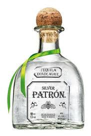 Tequila Patron Silver 40% abv 70cl