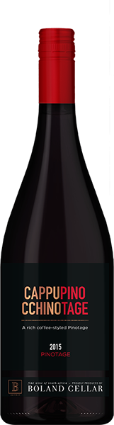 Boland Cappupino Ccinotage Pinotage 75cl 14% abv