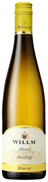 Willm Riesling Alsace Reserve 12.5% abv 75cl Blt