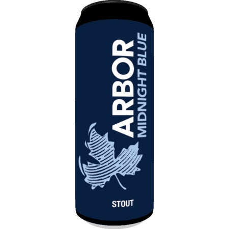 Arbor Ales Midnight Blue Stout 5.8% abv Can