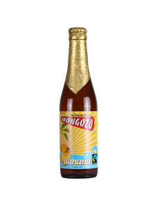 Mongozo Banana Beer 3.6% abv Fruit Beer 33cl Blt