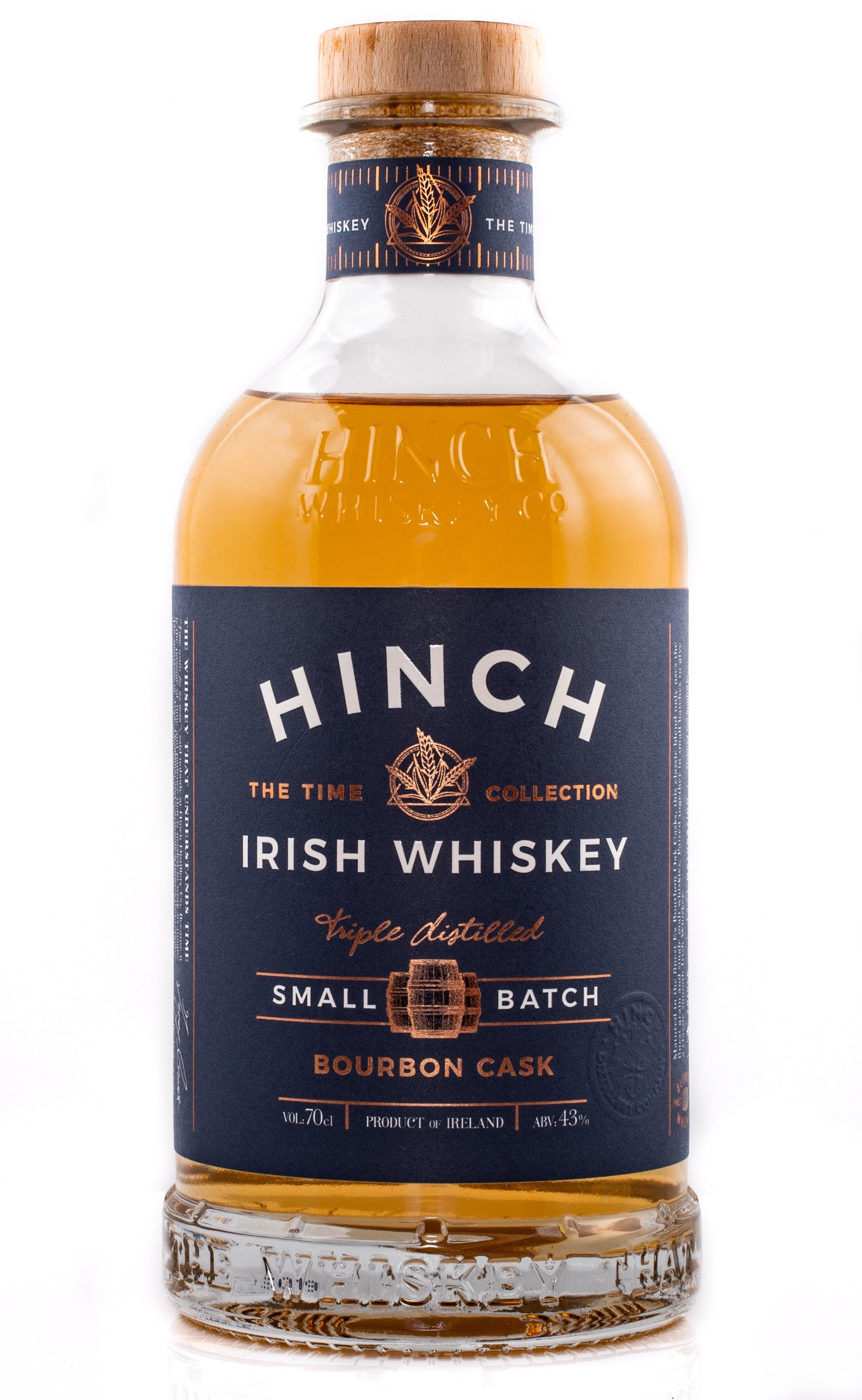 Hinch Small Batch Bourbon Cask 43% abv 70cl