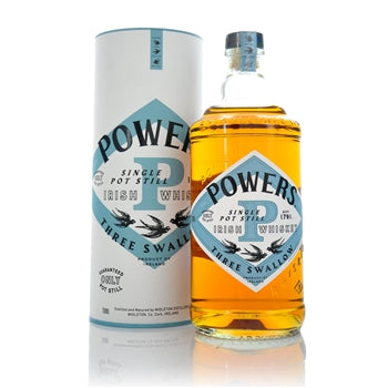 Powers 3 Swallow Pot Still Whiskey 40%abv 70cl
