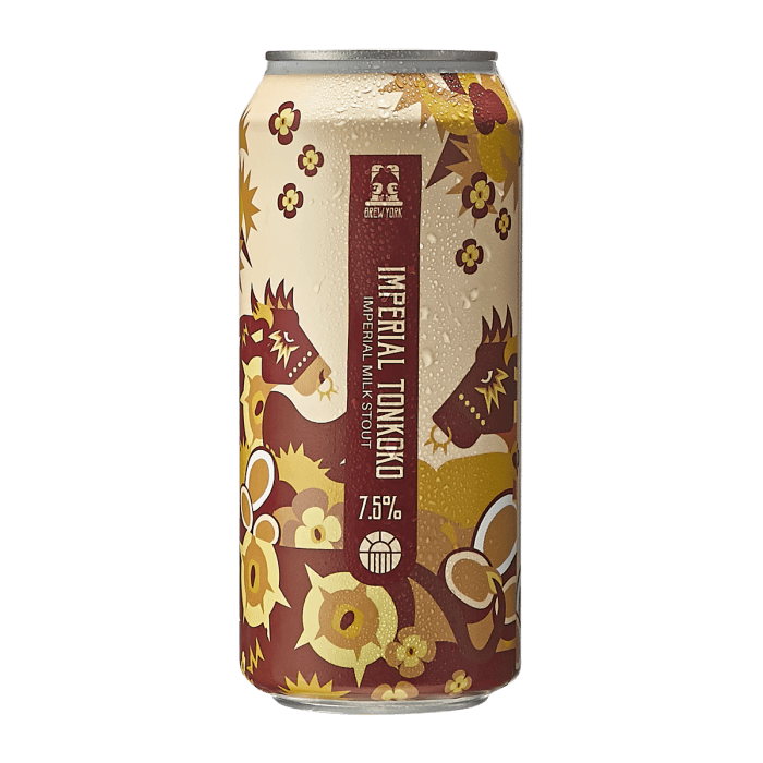 Brew York Imperial Tonkoko 7.5%abv  440ml Can