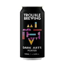 Trouble Brewing Dark Arts Porter 4.4% abv 440ml Can