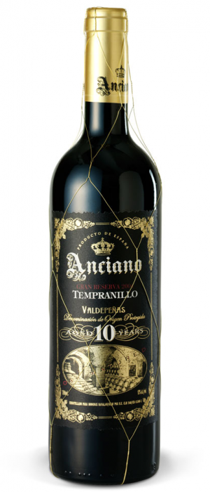 Anciano Tempranillo Valdepenas 10 Year Old 13% abv 75cl
