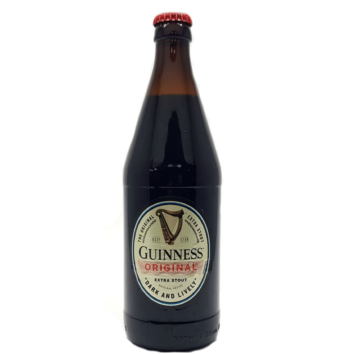 Guinness (Extra) Original Stout 4.2% abv 568ml Pint Btl
