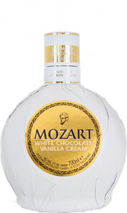 Mozart White Chocolate 17% abv 50cl