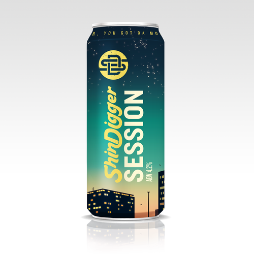 ShinDigger Session IPA 4.2% abv 440ml  Can