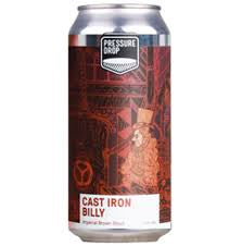 Pressure Drop Cast Iron Billy Stout  10.5% abv 440ml Can
