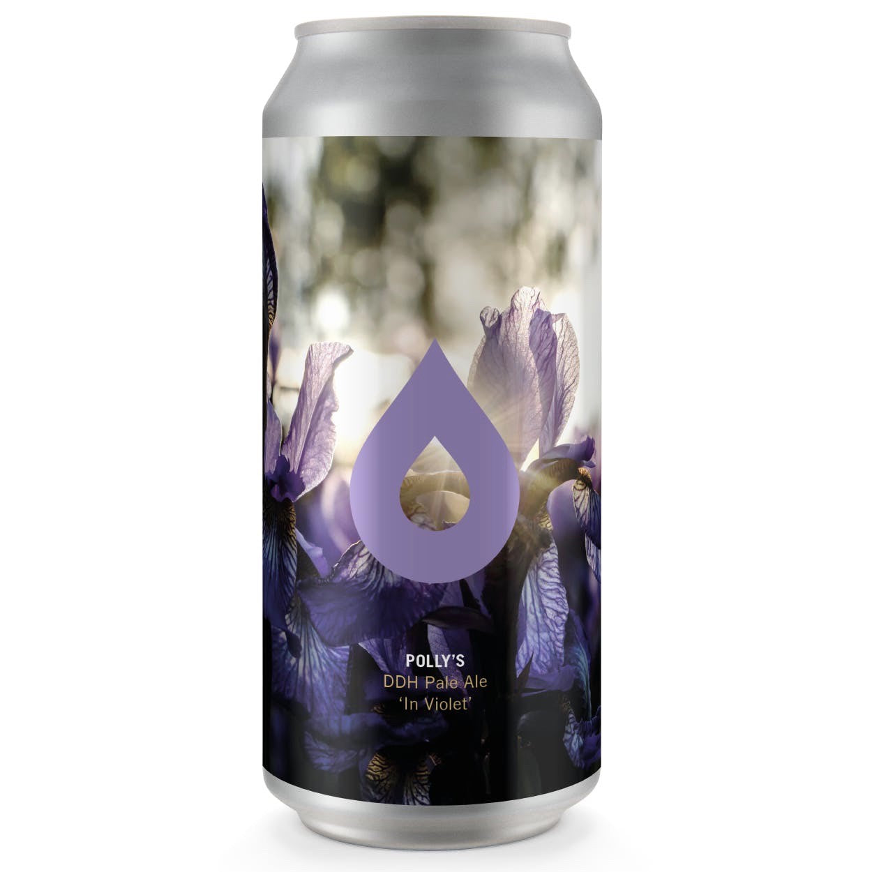 Polly's In Violet DDH Pale Ale 5.5% abv 440ml Can
