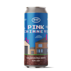 Sonnect 43 Pink Chimneys NEIPA  6.8% abv 440ml Can