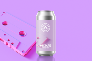 Beer Hut Mixtape 4% abv Session IPA 440ml Can