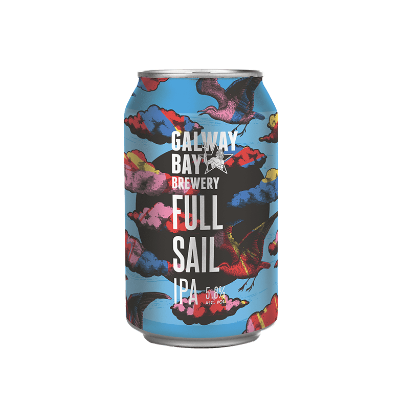 Galway Bay Full Sail 5.8% abv 33cl Can