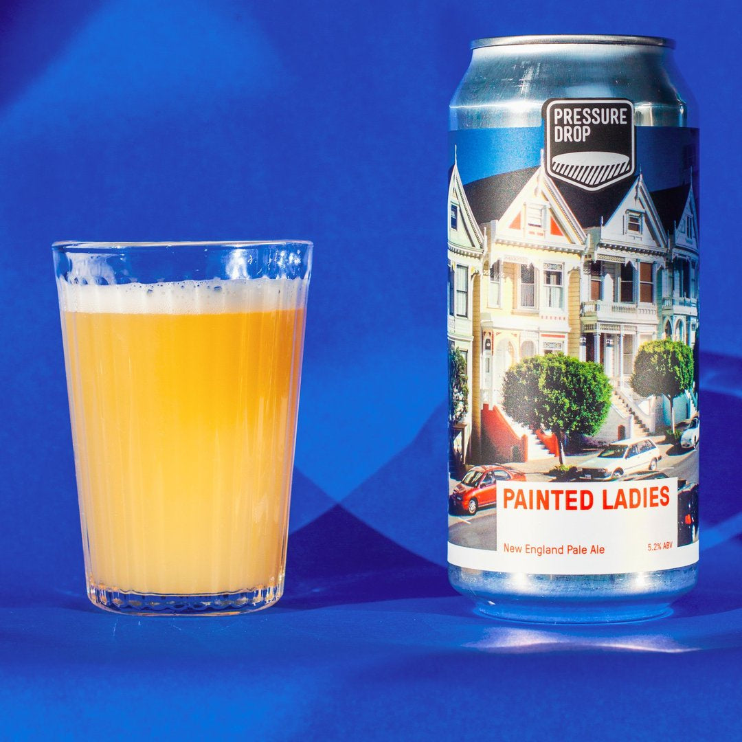 Pressure Drop Painted Ladies New England Pale 5.2% abv 440ml Can