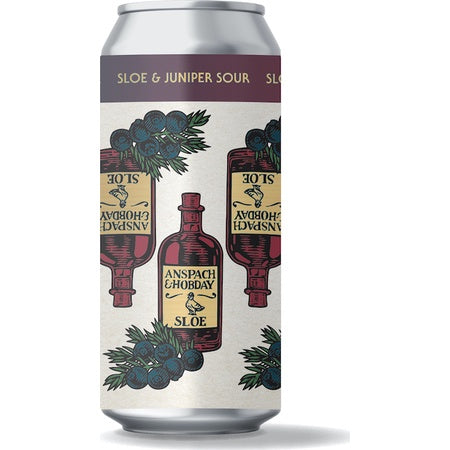Anspach & Hopday Sloe Juniper Sour 3.5% abv 440ml Can