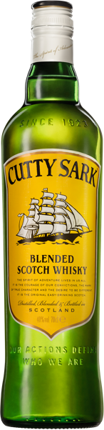 Cutty Sark Blended Scotch Whisky 40% abv 70cl
