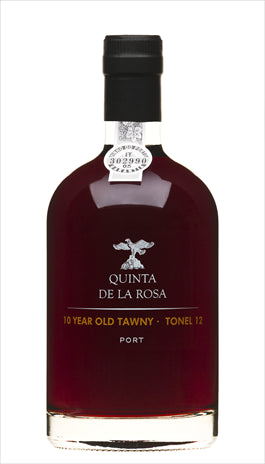 Quinta de la Rosa 10 year old Tawny Port 20% abv 50cl