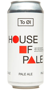 To Ol House Of Pale Pale Ale 5.5% abv 440ml Can