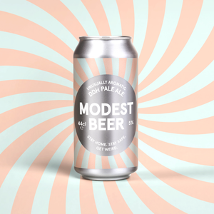Modest Beer DDH Pale Ale 5% abv 440ml  Can
