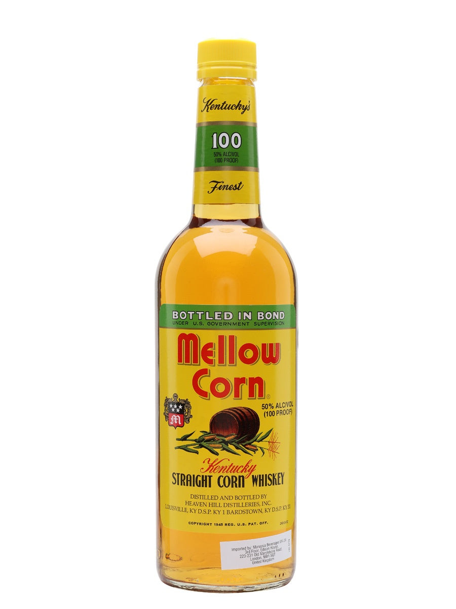 Mellow Corn Kentucky Straight Corn Whiskey 70cl 50% abv