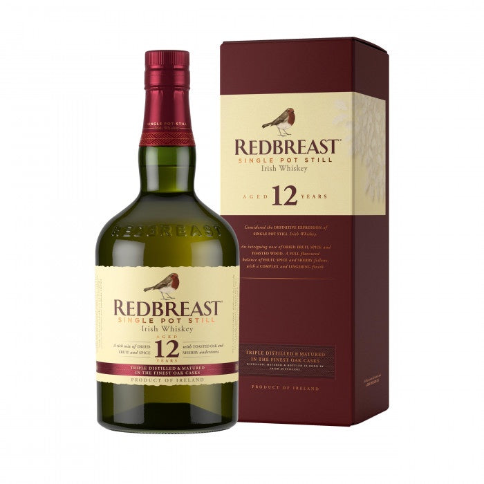 Redbreast 12 Year Old 40% abv 70cl