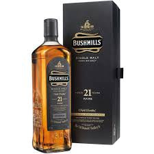 Bushmills 21 year old 40%abv 70cl