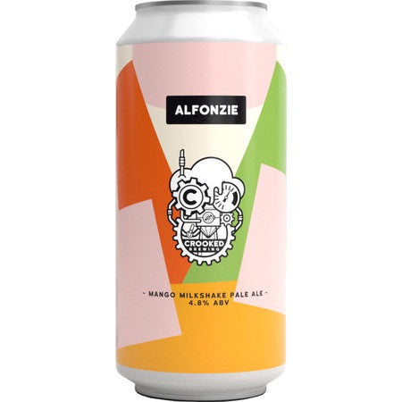 Crooked Brewing Alfonzie 4.8% Pale Ale abv 440ml Can