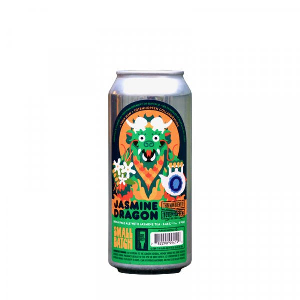 Thin Man Jasmine Dragon IPA 6.6% abv Jasmine Infused IPA 473ml Can