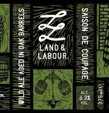 Land & Labour Saison de Coupage 6.3% abv 375ml Blt