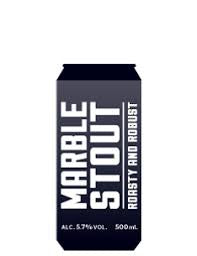 Marble Stout 5.7% abv 500ml Can
