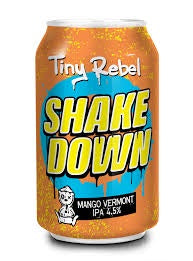 Tiny Rebel Shake Down IPA 4.5% abv 33cl Can