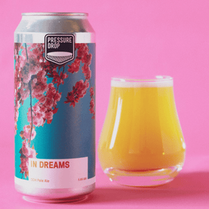 Pressure Drop In Dreams DDH Pale Ale 5.8% abv 440ml Can
