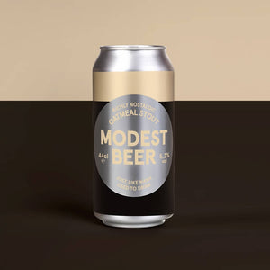 Modest Beer Oatmeal Stout 5.2% abv 440ml Can