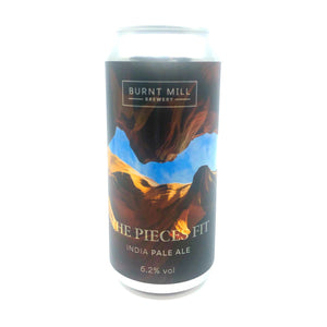 Burnt Mill The Pieces Fit 6.2% abv IPA 440ml Can