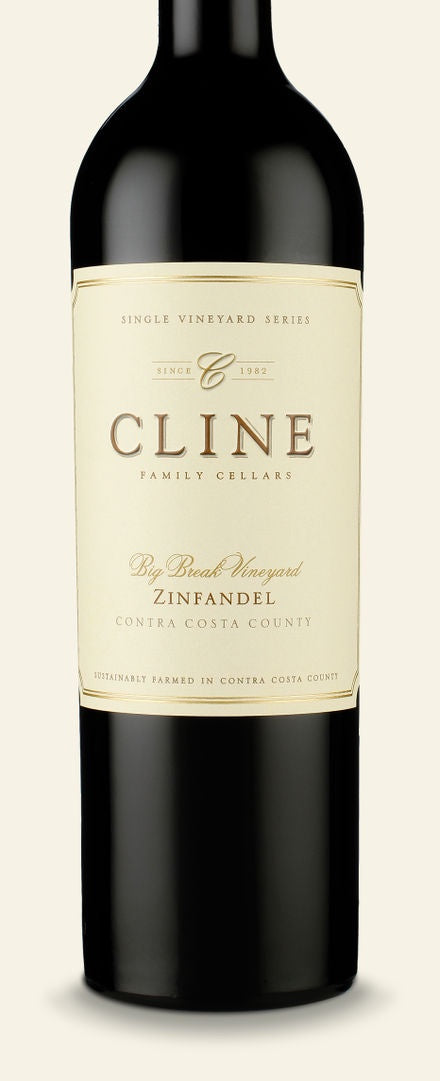Cline Big Break Zinfandel 15.5% abv 75cl