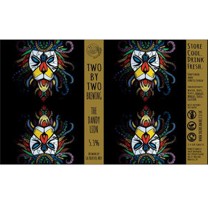 Two By Two The Dandy Lion Pale Ale 5.3% abv 440ml Can