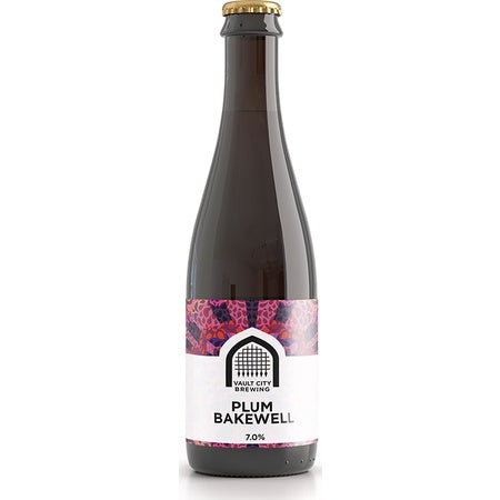 Vault City Plum Bakewell Sour 7%abv 375ml Blt